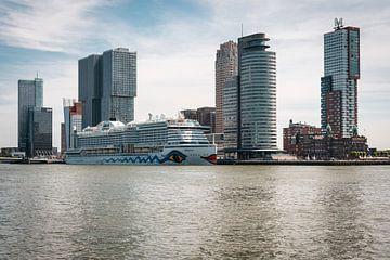 Skyline von Rotterdam von vdlvisuals.com