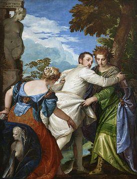 Die Wahl zwischen Tugend und Laster, Paolo Veronese
