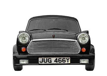 Mini cabriolet 1275cc in zwart van aRi F. Huber