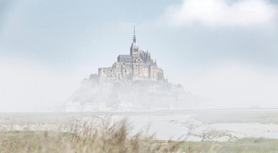 De Mont Saint-Michel Frankrijk kleur