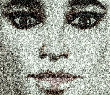 Porträt Frau von Maurice Dawson