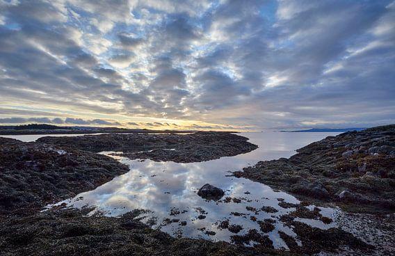 Schottische Küstenansicht