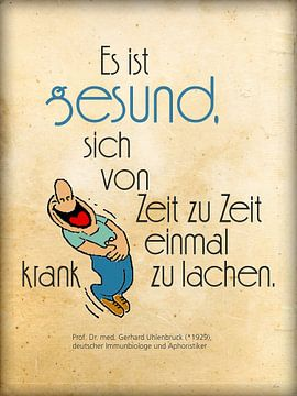 Krank lachen ist gesund von Dirk H. Wendt