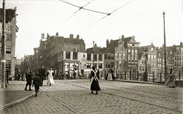Oude foto Amsterdam sur Corinne Welp
