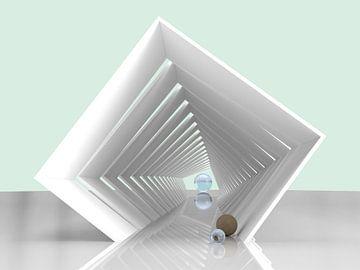 Quadratischer Tunnel von shoott photography