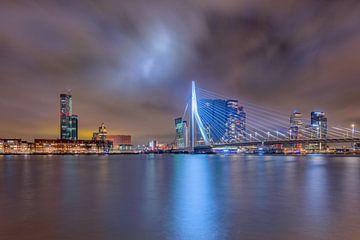 Die Skyline von Rotterdam von Dennisart Fotografie