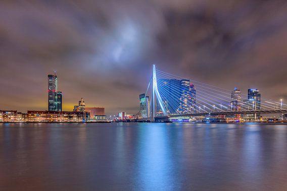 Die Skyline von Rotterdam
