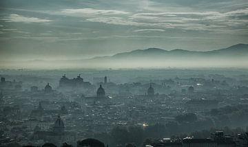 Skyline Rome van Claudia van Vulpen Lenssen