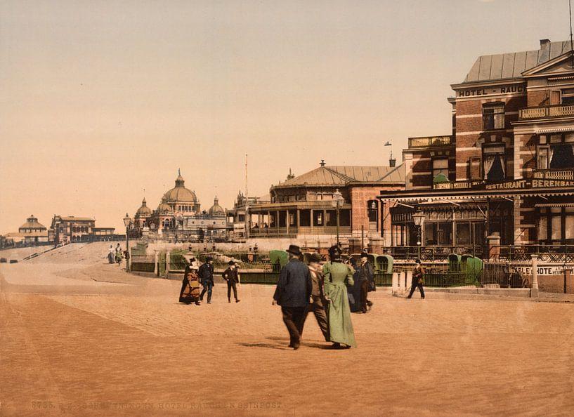 Hotel Rauch, Scheveningen van Vintage Afbeeldingen