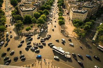 Roundabout Arc de Triomphe, Paris von Melvin Erné