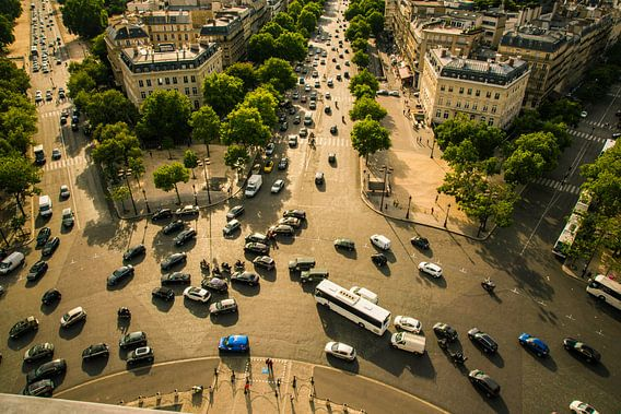 Rotonde Arc de Triomphe, Parijs