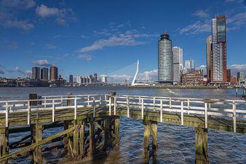 Erasmusbrug en de Kop van Zuid Rotterdam von René Brand