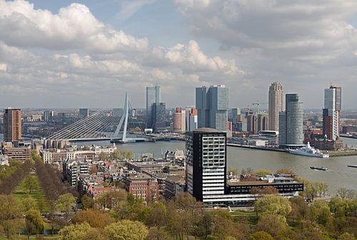 Skyline van Rotterdam van