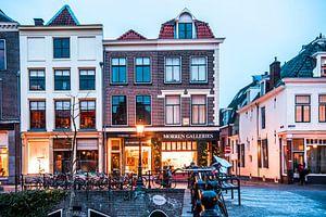 Prachtige foto van Utrecht aan de Oudegracht