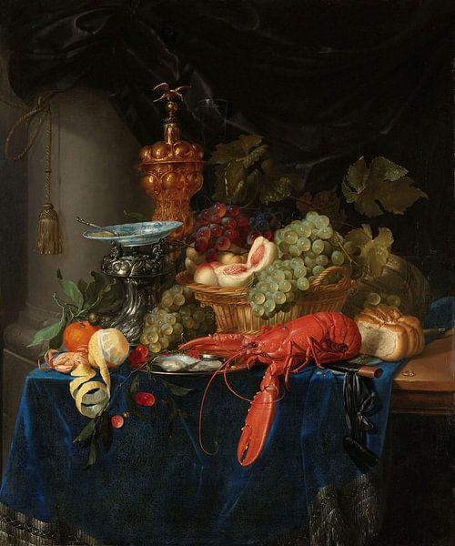 Stilleven met een gouden bokaal, Pieter de Ring sur Meesterlijcke Meesters
