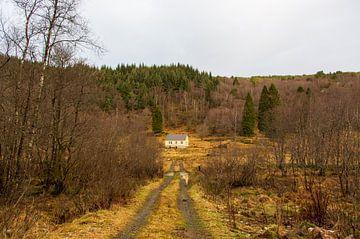 Verlassenes Haus Norwegen von Coen Feron