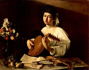 Lautenist, Caravaggio (Michelangelo Merisi da Caravaggio)