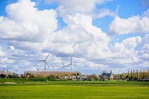 Windmolens van Nederland van Sem Lemmers