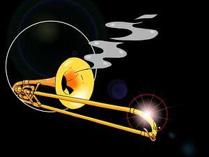 Sluiptrombone - Sniping Trombone van Maarten Hartog