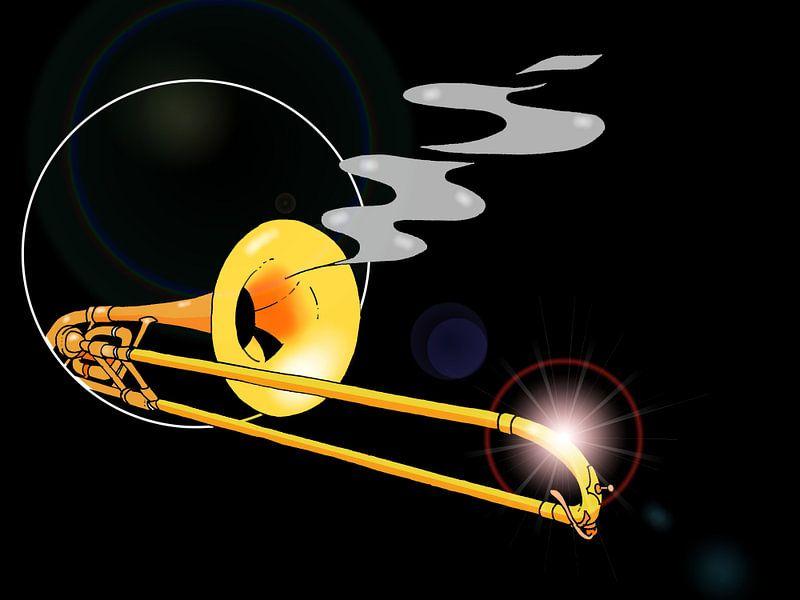 Sniping Trombone sur Maarten Hartog