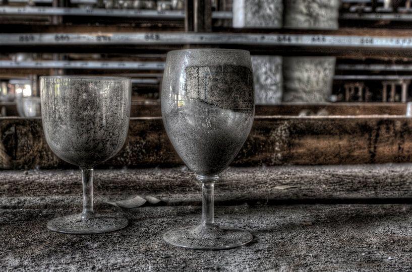 Verlaten glaswerk van Eus Driessen