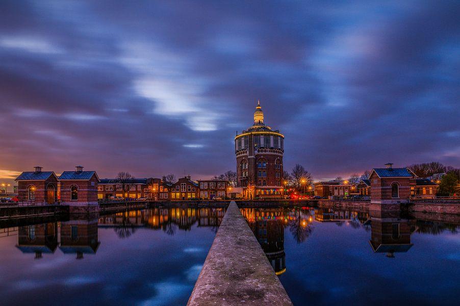 Watertoren - Rotterdam van Bram Kool