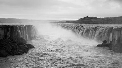 Sellfoss waterval IJsland van