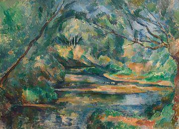 Der Bach, Paul Cézanne