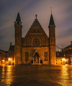 La salle des chevaliers au Binnenhof à La Haye sur Arisca van 't Hof