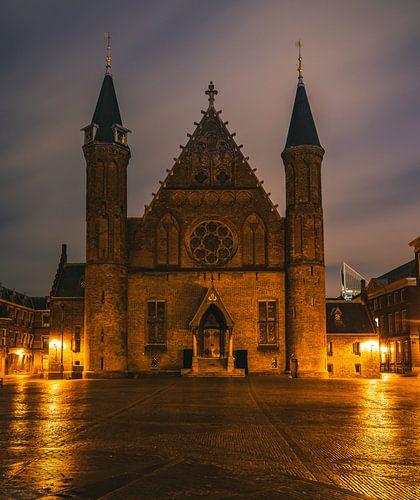 De Ridderzaal op het Binnenhof in Den Haag