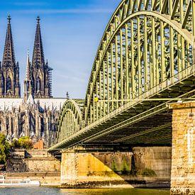 Dom van Keulen in de zon van Günter Albers
