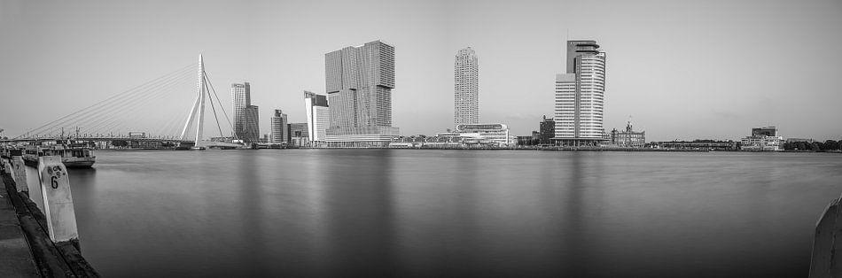 Rotterdam Panorama z/w