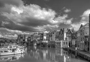 Dordrecht bij Restaurant de Stroper bij de Wijnbrug van