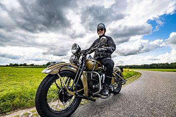 Biker old style.