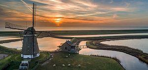 Molen Het Noorden Texel Zonsopkomst