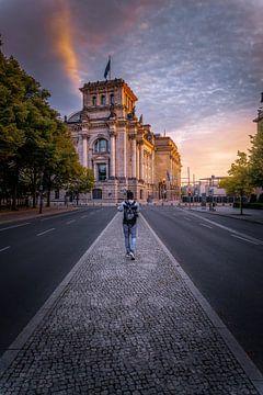 Berlijnse Rijksdag van Iman Azizi