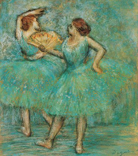 Edgar Degas. Two Dancers van 1000 Schilderijen
