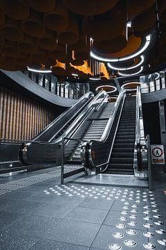 Pannenhuis metrostation in Brussel von vedar cvetanovic