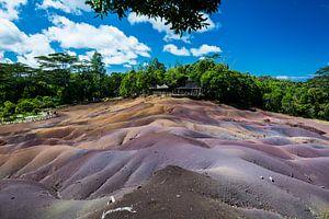 Seven Colored Earth, Mauritius, Afrika