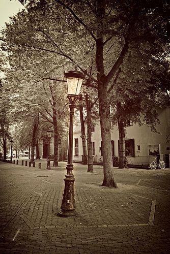 Scheve straatlamp