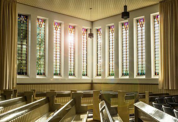 Kerk interieur Amsterdamse school