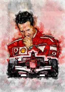 Michael Schumacher von Theodor Decker