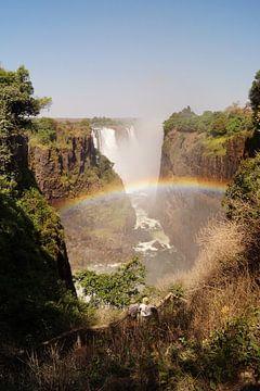 Rainbow over Victoria van Erna Haarsma-Hoogterp