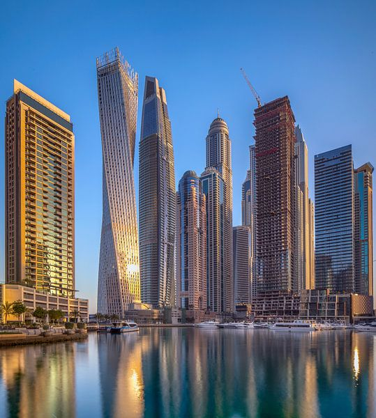 Dubai Marina van Rene Siebring