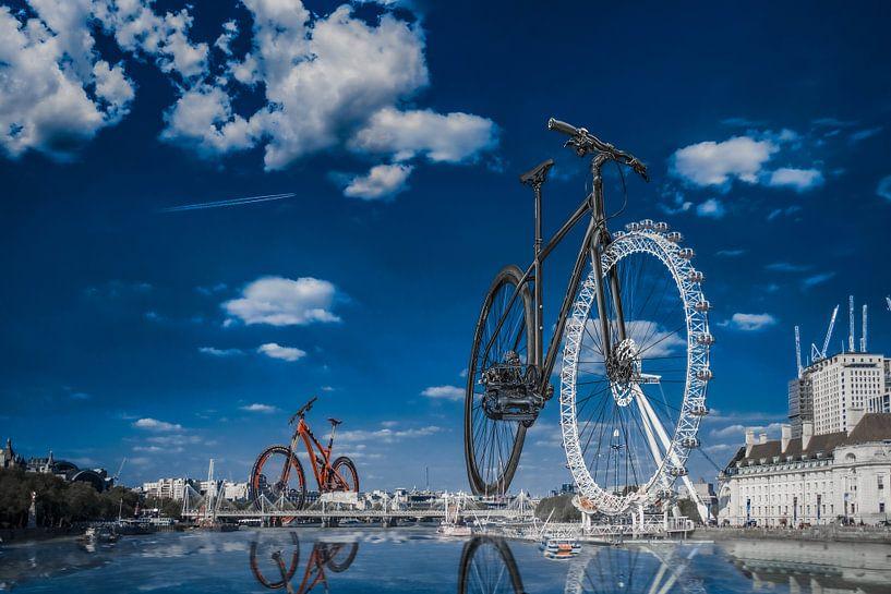 The London Bike (Eye) van Elianne van Turennout