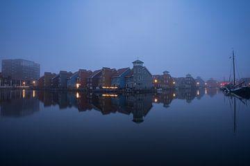 Groningen - Reitdiephaven von Norbert Versteeg