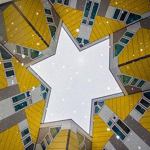 kubuswoningen, paalwoningen, Rotterdam, Nederland, van