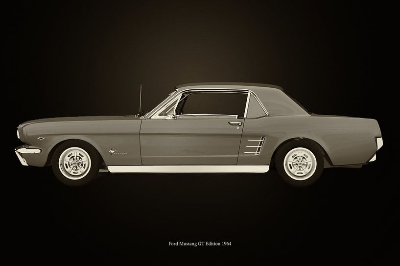 Ford Mustang GT van Jan Keteleer