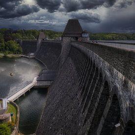Barrage de Mohne / Möhnetalsperre - Sperrmauer sur Mart Houtman