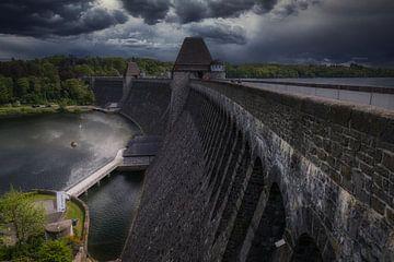 Möhne Dam / Möhnetalsperre - Sperrmauer van Mart Houtman